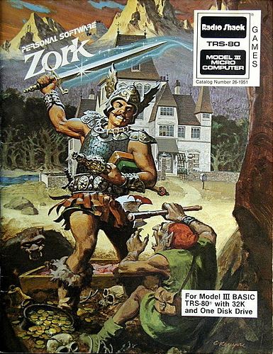 Zork box art